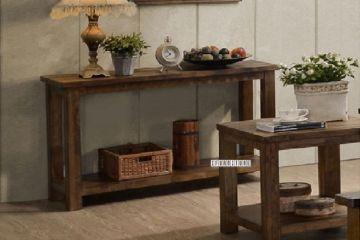 Picture of VENTURA Oak Console Table