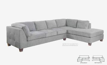 Picture of Newton L Shape  Sofa *Light Grey