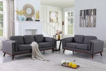 Picture of VIKING 3+2 Fabric Sofa Range *Grey