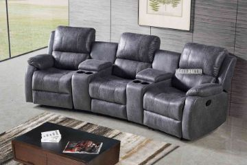 Picture of Easton Home Theatre Reclining Sofa With 2 Cup Holders  and Storage