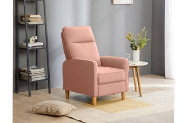 Picture of FINLEY Push Back Recliner Chair *Pink