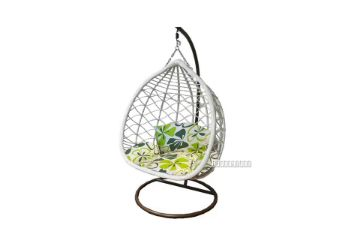 Picture of #820 DOUBLE HANGING CHAIR IN WHITE