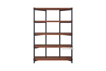 Picture of RUTLAND 166 Bookshelf With Metal Frame *Walnut