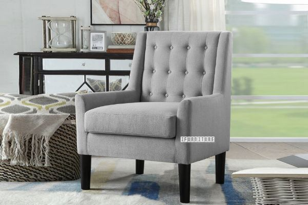 Picture of JUSSI Fabric Lounge Chair *Grey