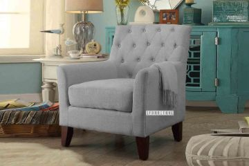 Picture of GROOMBRIDGE Fabric Lounge Chair *Grey