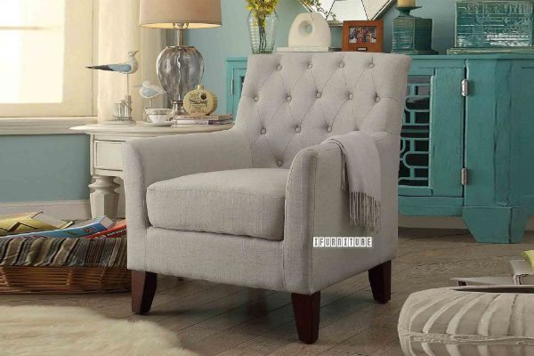 Picture of GROOMBRIDGE Fabric Lounge Chair *Beige
