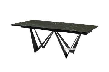 Picture of LIBERTY 200-300 Extension Ceramic Marble Dining Table *Black