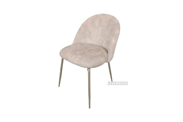 Picture of LANCER Velvet Fabric Dining Chair *Beige