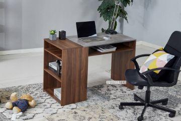 Picture of BILLY 116 Writing Desk With Shelf *Walnut