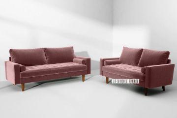 Picture of Faversham 3+2 Sofa Range *Rose Velvet