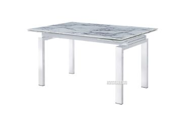 Picture of FREYA 140-200 Extension Dining Table *White Marble Finishing