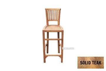 Picture of BALI Solid Teak Bar Chair