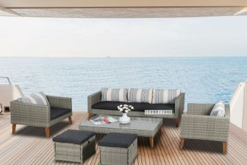 Picture of JUNO 6PCS Spratly Sofa Set With Acacia Wood Legs
